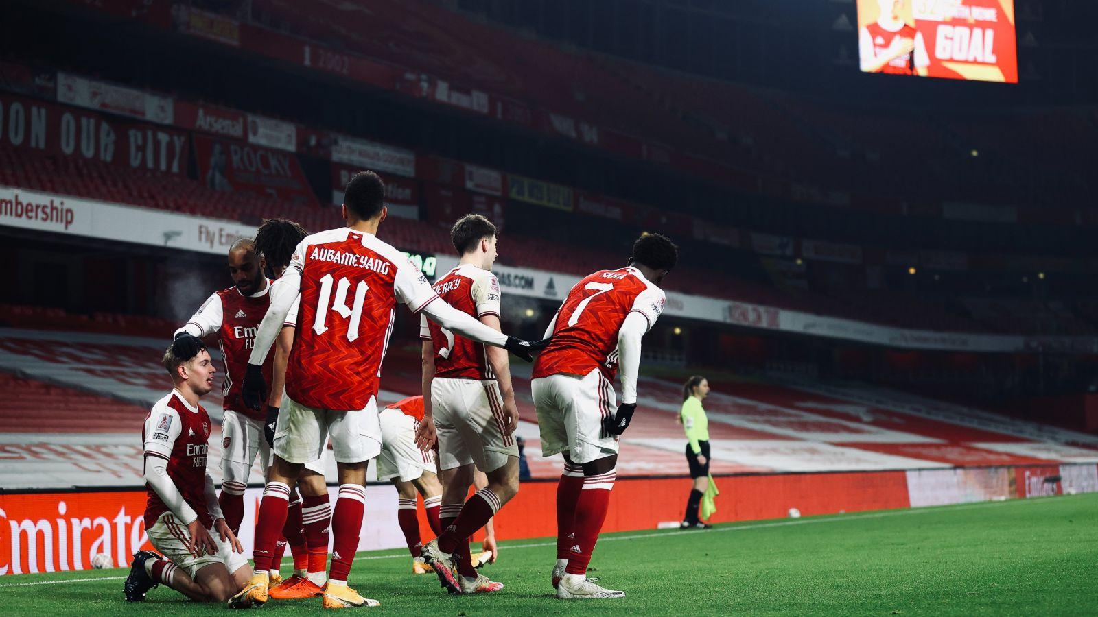 Skuad Arsenal. (foto: twitter.com/Arsenal)