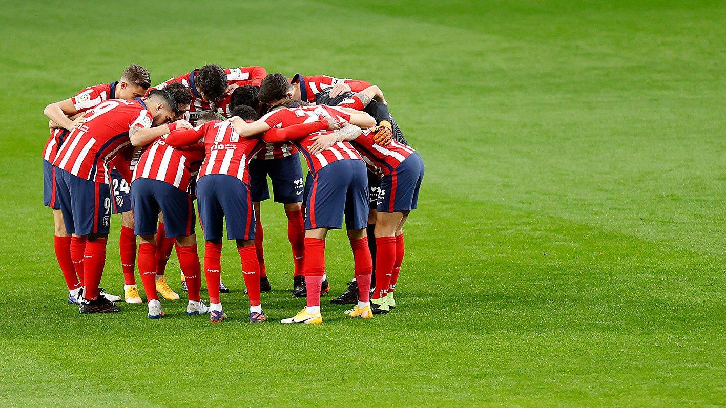 Skuad Atletico Madrid. (foto: twitter.com/atletienglish)