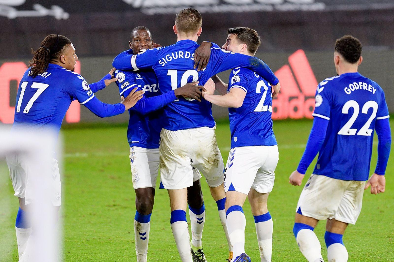 Skuad Everton. (foto: twitter.com/Everton)