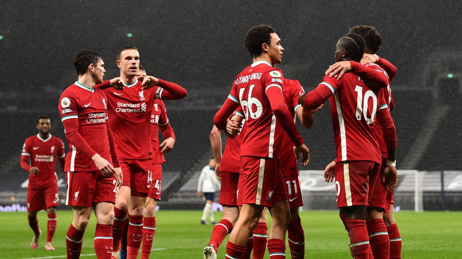Jadwal Liga Champions: Barcelona vs PSG, RB Leipzig vs Liverpool. (foto:twitter/LFC)