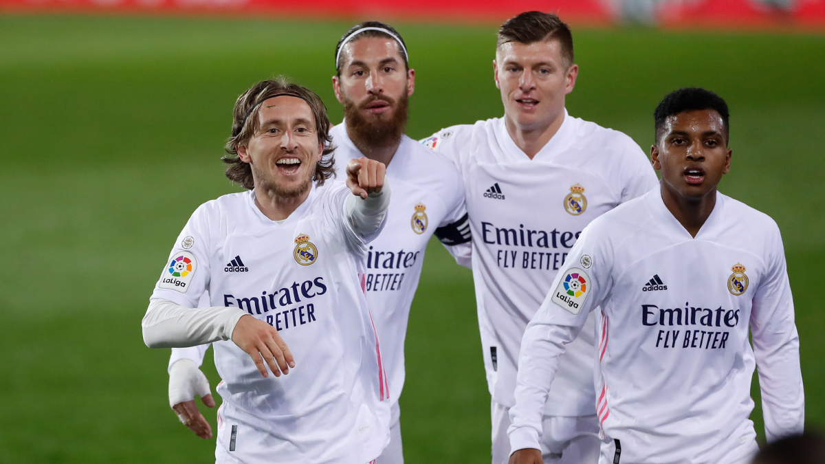 Skuad Real Madrid. (foto: twitter.com/realmadriden).