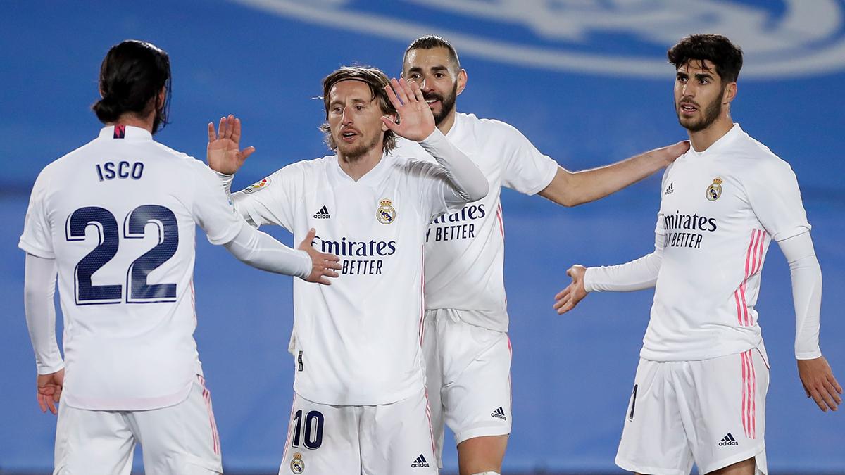 Skuad Real Madrid. (foto: twitter.com/realmadrid).