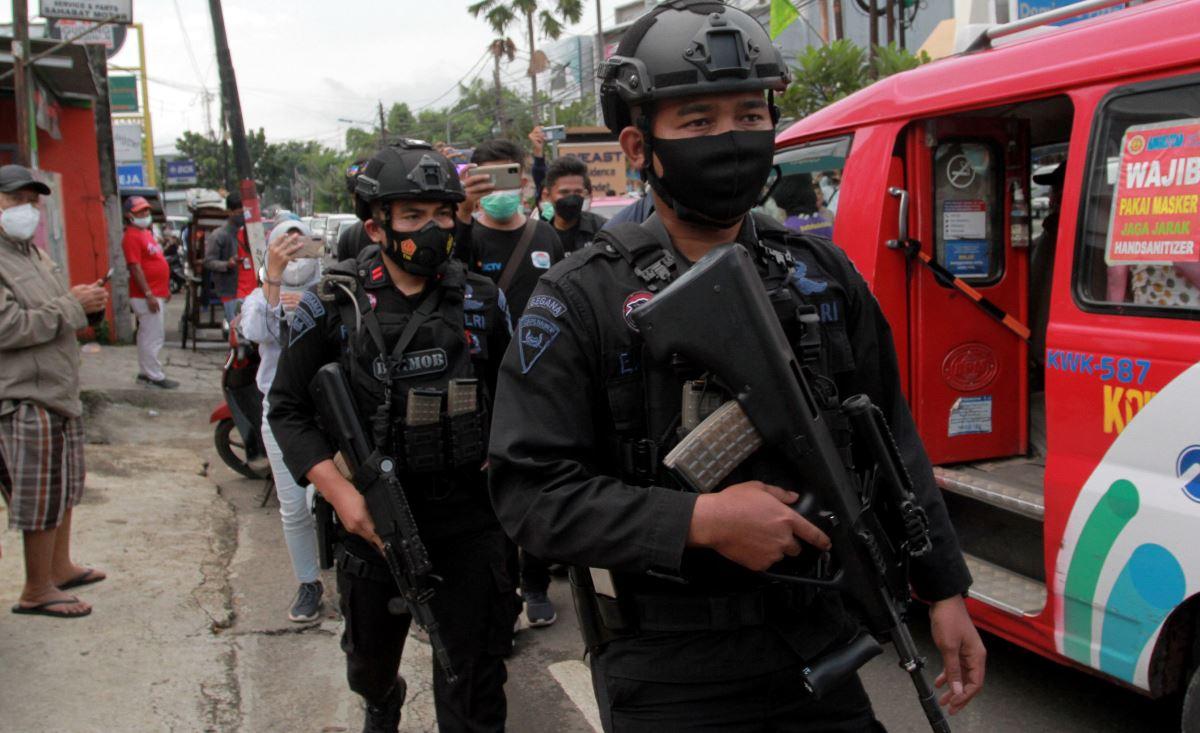 Andai Manuver Polisi Terlambat Sedikit, Tempat Ini Sudah Meledak
