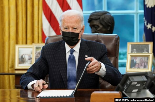 Presiden Amerika Serikat, Joe Biden. Foto: Reuters.