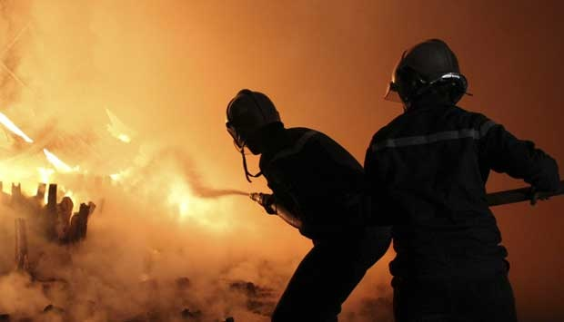 Ilustrasi-Kebakaran. Foto: REUTERS/Mohamed Amine ben Aziza.