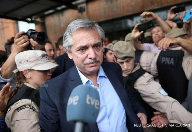 Presiden Argentina, Alberto Fernandez. Foto Reuters.