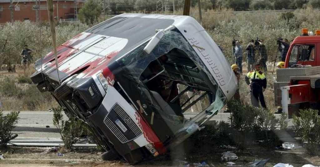 Ilustrasi-Kecelakaan bus. Foto: Reuters.