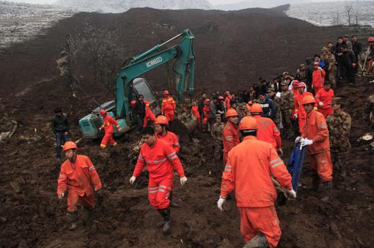 Waduh, Selama Sepekan, 22 Penambang China Belum Diselamatkan