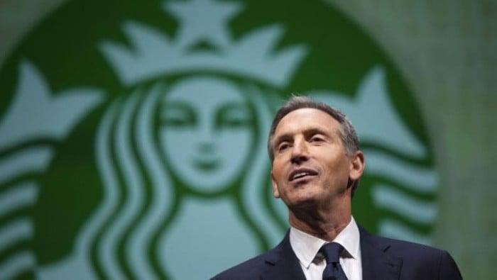 CEO Starbucks, Howard Schultz. Foto: Reuters.