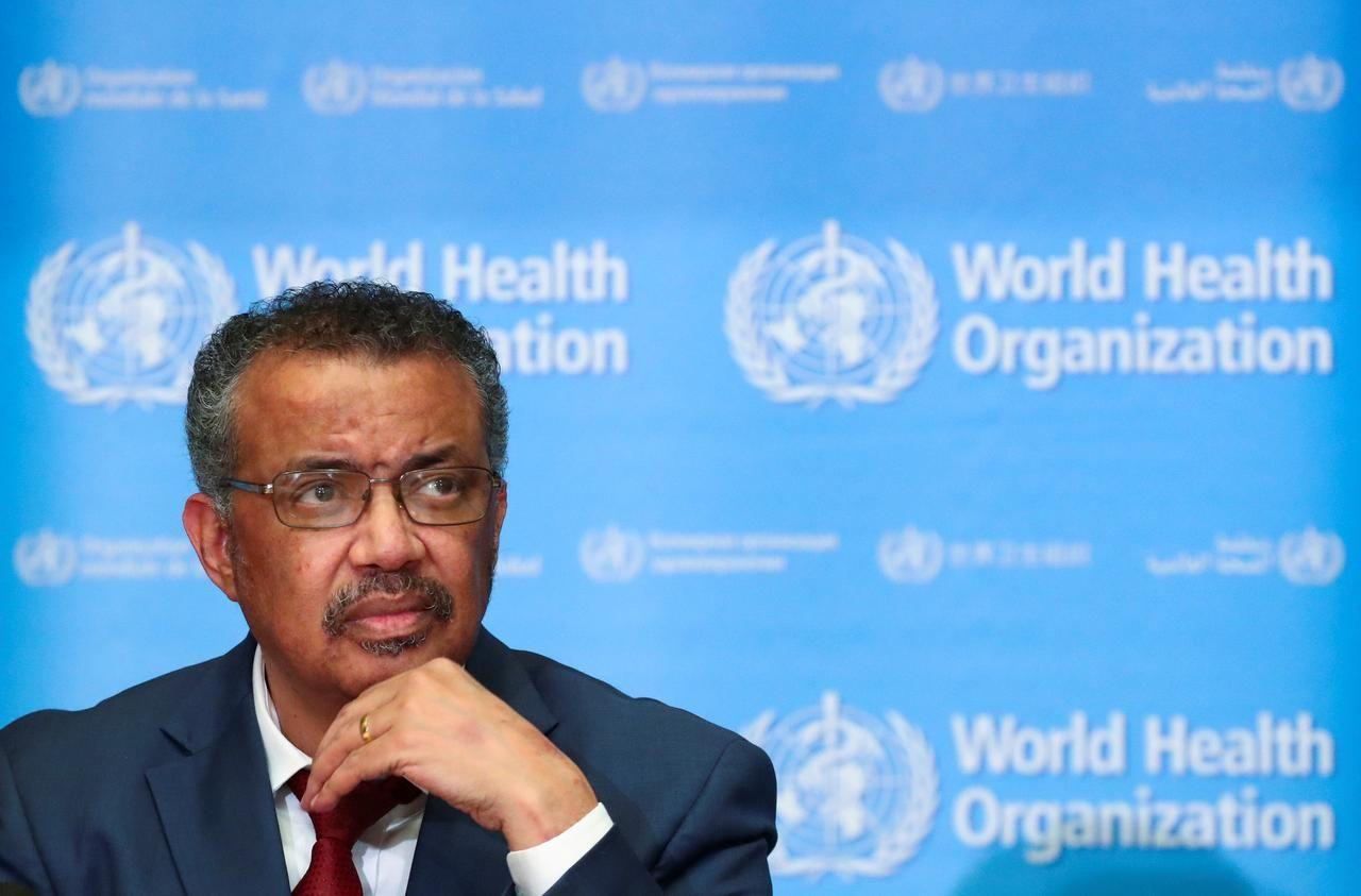Direktur Jenderal Organisasi Kesehatan Dunia (WHO), Tedros Adhanom Ghebreyesus. Foto: Reuters.