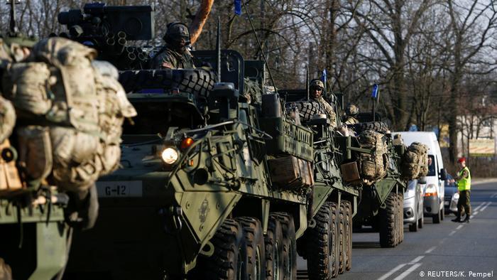 Pasukan gabungan Uni Eropa. Foto: K. Pempel/Reuters.