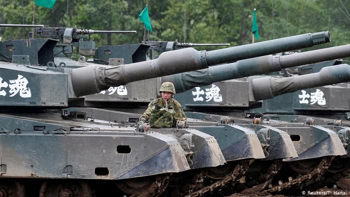 Alutsista Perang Korea Selatan. Foto: Reuters/T. Hanai.