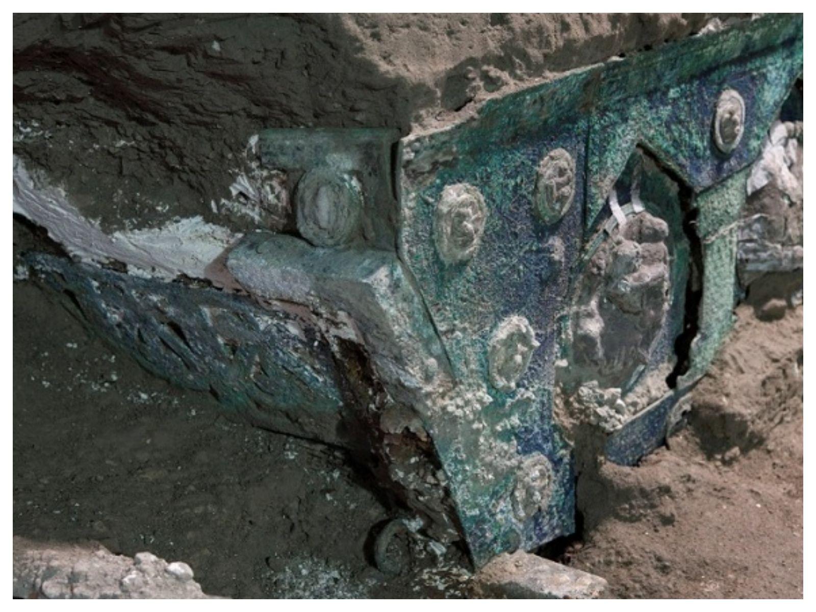 Geger, Penemuan Kereta Romawi Kuno Utuh di Italia, Ini Faktanya