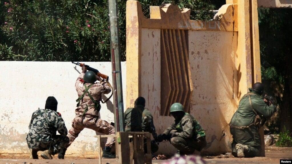 Ilustrasi-Bentrokan tentara Mali. Foto: Reuters.