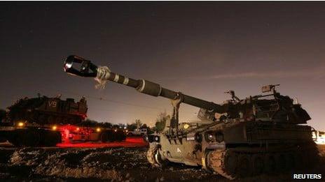 Serangan Israel Membati Buta di Gaza, Dentuman Tank di Mana-mana