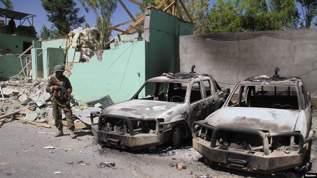 Ilustrasi-Serangan bom di Afghanistan. Foto: Reuters.