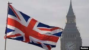 Bendera Inggris berkibar. Foto: Reuters/Toby Melville.