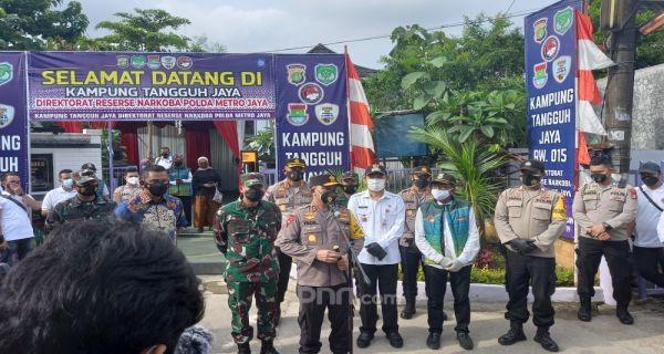 Kapolda Sebut Kampung Tangguh Jaya, Pesannya Menohok