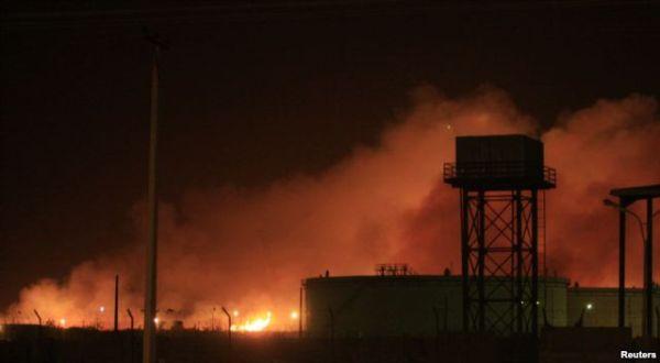 Serangan roket di Sudan. Foto: Reuters.