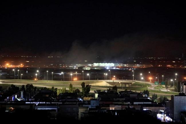 Serangan Rudal Setan Houthi Meledak Berkat Tuhan di Langit Riyadh