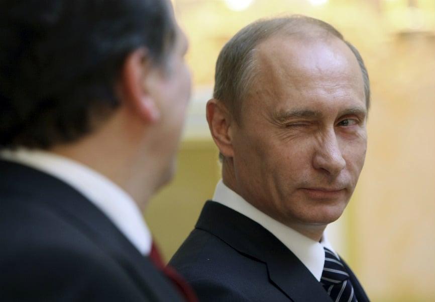 Presiden Rusia Vladimir Putin. Foto: Reuters.