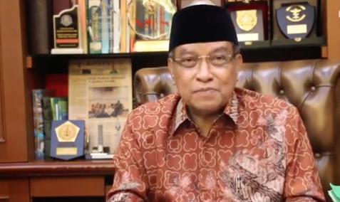 Ketua Umum Pengurus Besar Nahdlatul Ulama (PBNU) Said Aqil Siradj. Foto : Instagram/SaidAqil