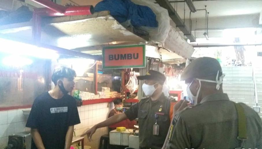 21 Pelanggar ProkesTerjaring Operasi Tibmask di Jakarta