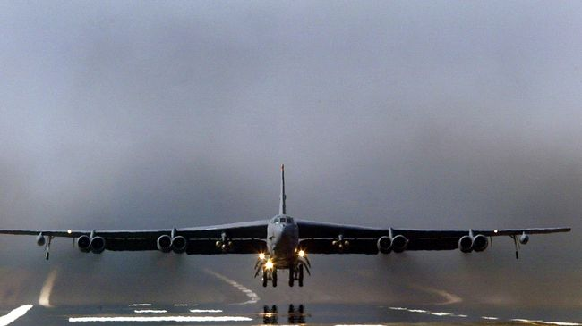 Cari Gara-gara, Pesawat Tempur B-52 Milik AS Intimidasi Iran