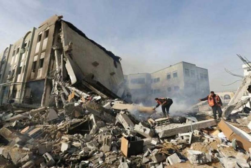 Tragis! Serangan Rudal Israel Tewaskan Sekeluarga di Suriah