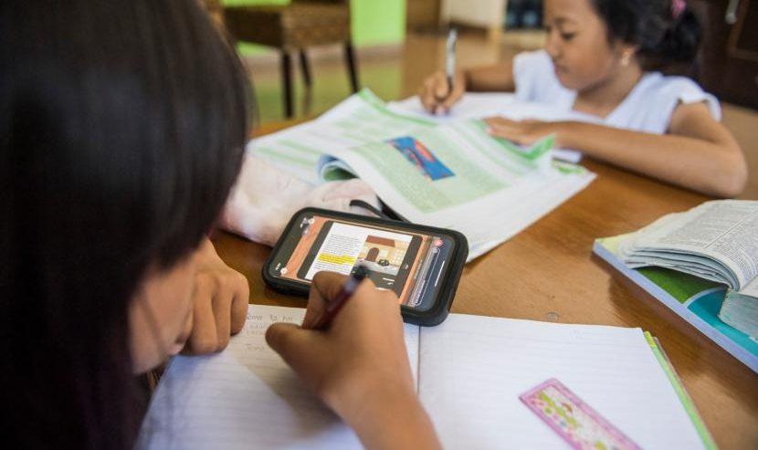 Ilustrasi-Belajar di rumah. Foto: Antara.