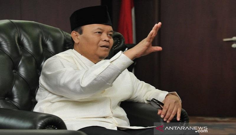 Wakil Ketua Majelis Permusyawaratan Rakyat Republik Indonesia (MPR RI) Dr. H. M Hidayat Nur Wahid. Foto: Antara.