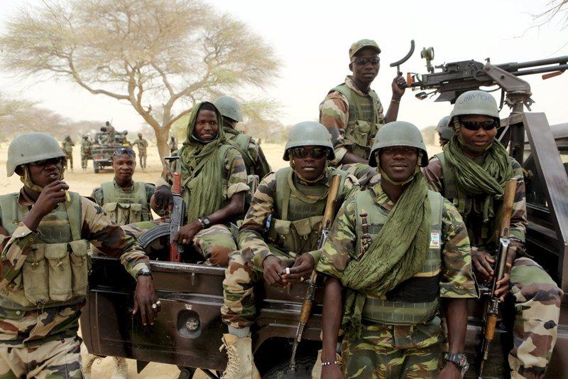 Tentara Nigeria. Foto: Reuters.