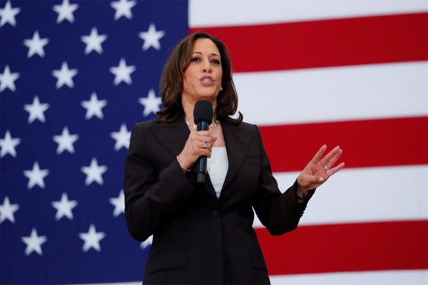 Wakil Presiden Amerika Serikat, Kamala Harris. Foto: Reuters.