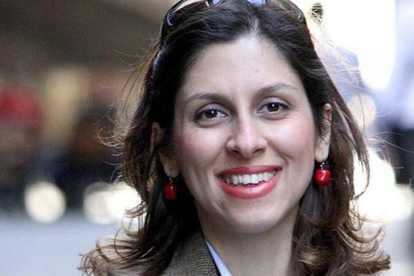 "Pekerja amal Nazanin Zaghari-Ratcliffe yang merupakan warga negara Inggris dan Iran telah menyelesaikan hukuman di Iran. Foto: twitter.com/Sir Peter Morris ""Thank God we're out""."