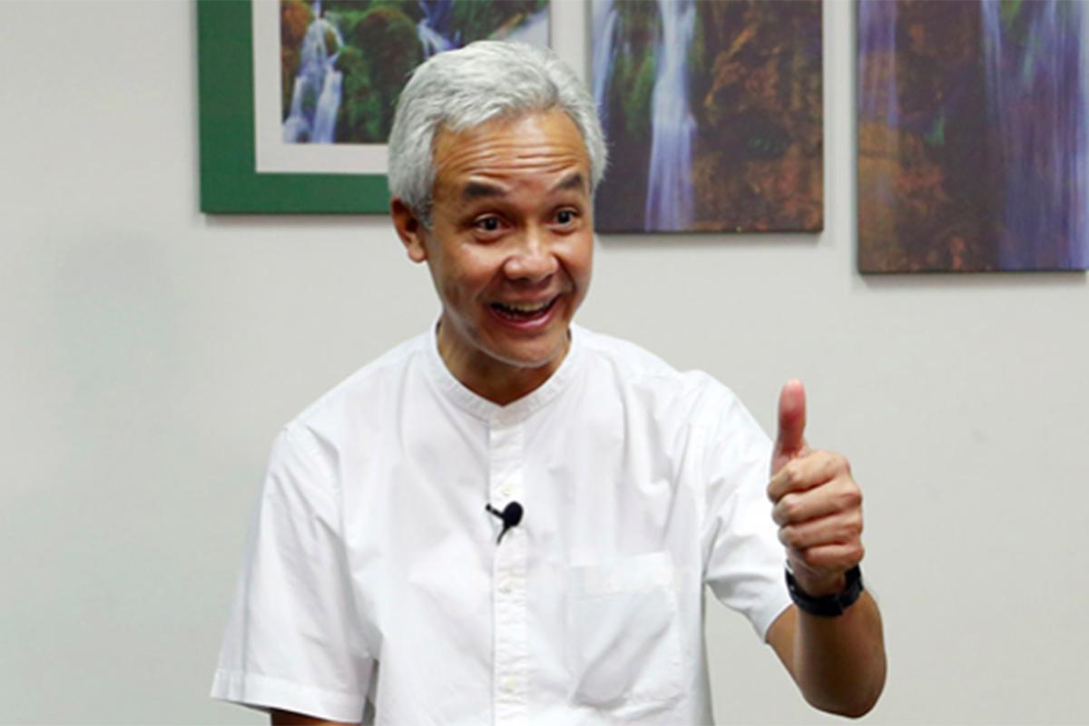 Gubernur Jawa Tengah Ganjar Pranowo. Foto: Ricardo/JPNN.com/GenPI.co.
