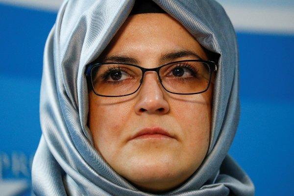 Tunangan Khashoggi, Hatice Cengiz. Foto: Reuters.