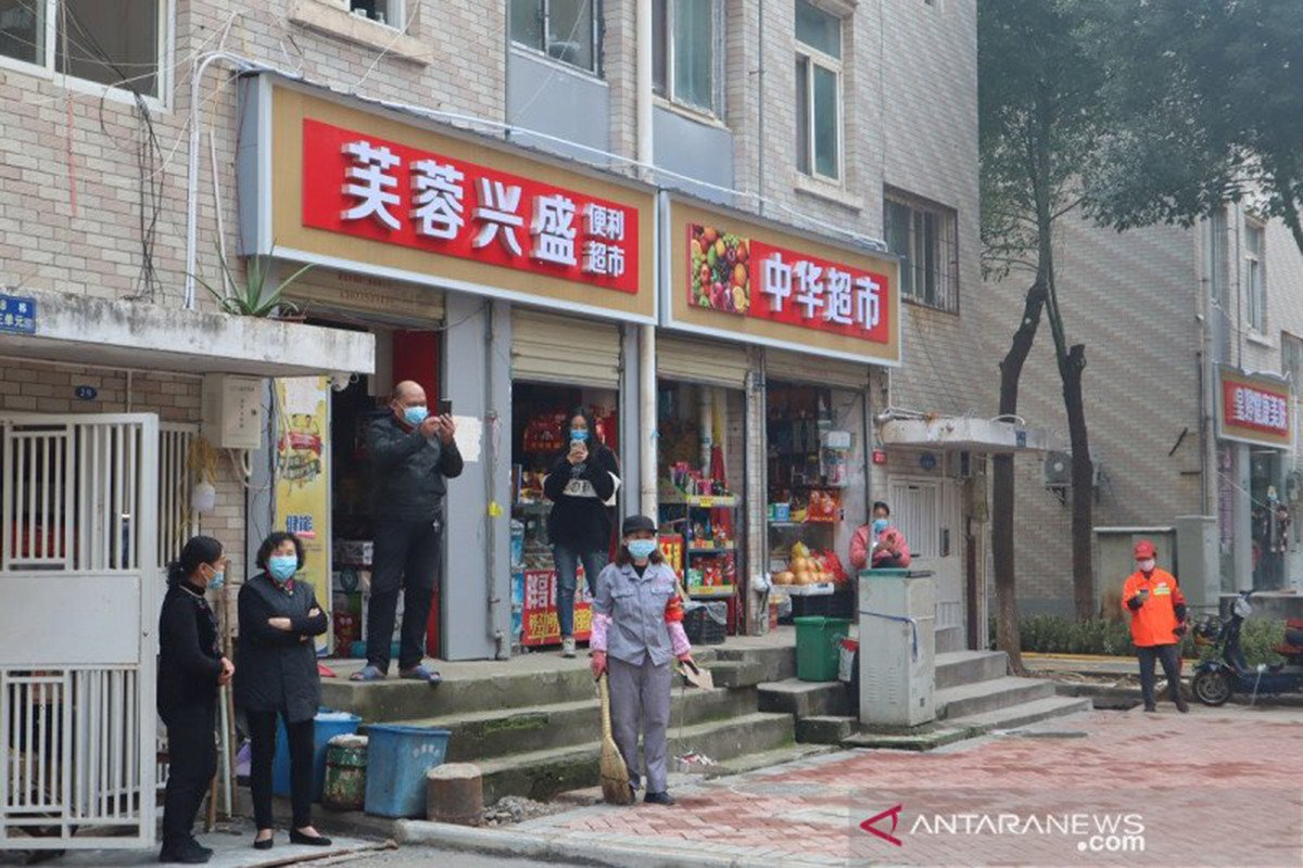 Ilustrasi-Kota Wuhan, China. Foto: Antara.