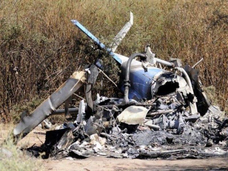 Ilustrasi-Kecelakaan helikopter. Foto: Reuters.