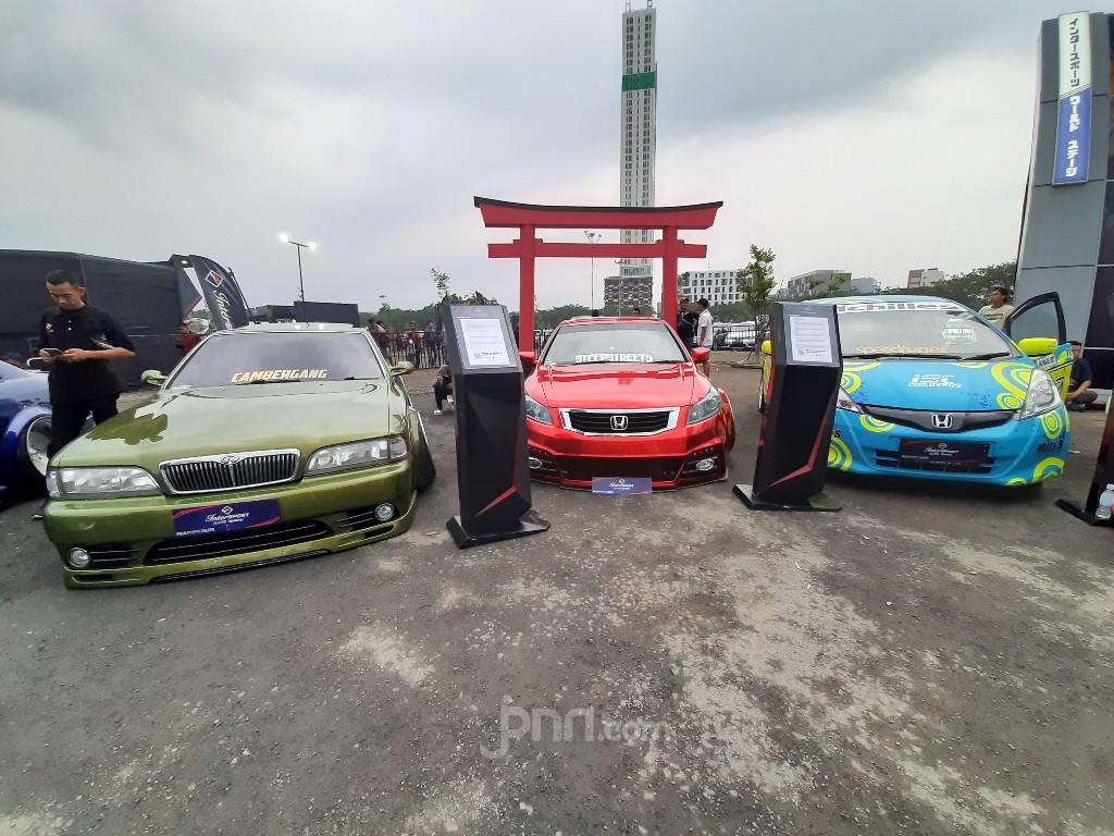 Kontes modifikasi mobil di Indonesia. Foto: JPNN/Ridha
