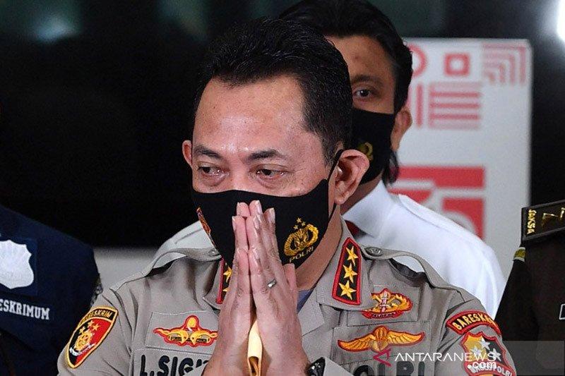 Kapolri Jenderal Pol Listyo Sigit Prambowo. Foto: Antara/Sigid Kurniawan.