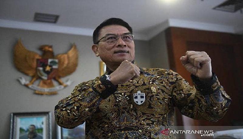 Ketua Umum Partai Demokrat versi KLB Sumut, Moeldoko. Foto: Antara.