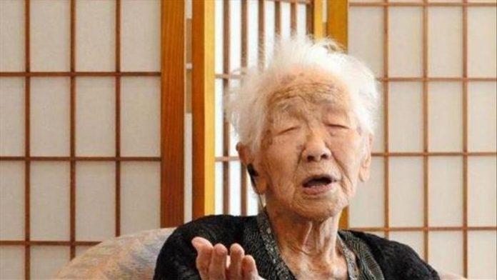 Kane Tanaka, warga tertua di dunia saat ini menurut Guinness World Records. Foto file - Anadolu Agency.