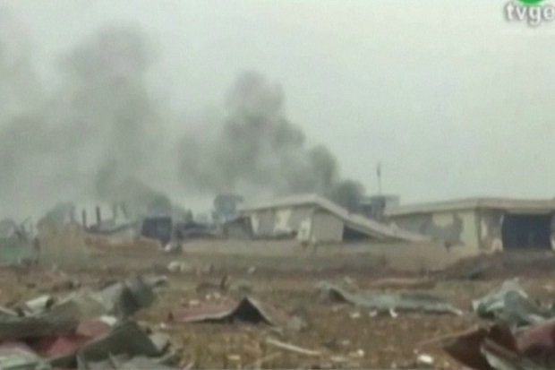 Ledakan Dahsyat di Guinea Ibarat Kiamat, Dunia Dibuat Tercabik