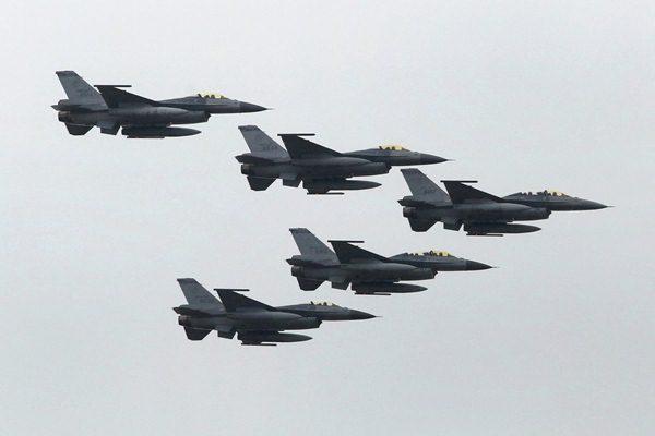Ilustrasi-Pesawat tempur Amerika Serikat. Foto: Reuters.