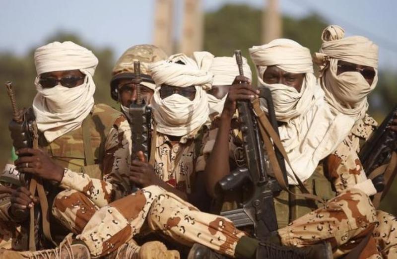 Militer Chad. Foto: Reuters.