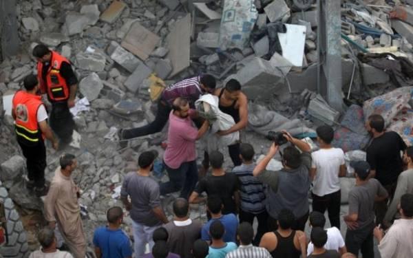 Ilustrasi-Bangunan hancur karean serangan udara. Foto: Int/JPNN