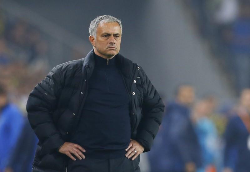 Pelatih Jose Mourinho. Foto: Reuters.