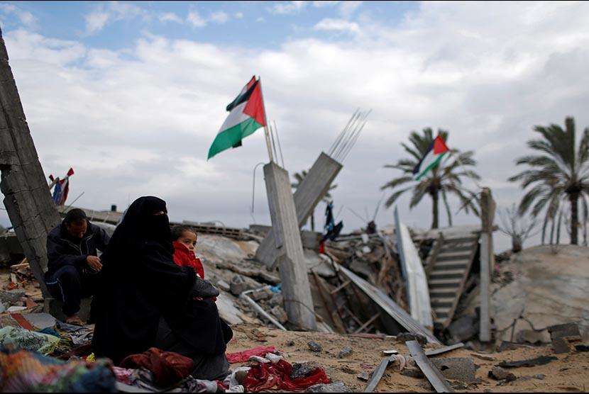 Kondisi Palestina. Foto: Mohamed Salem/Reuters.