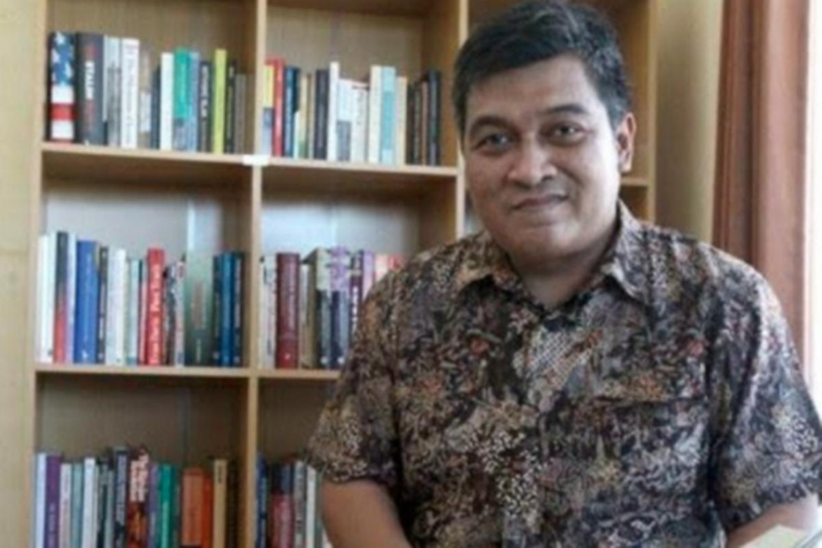 Pengajar Ilmu Politik Universitas Airlangga, Airlangga Pribadi (sumber foto: Antara)