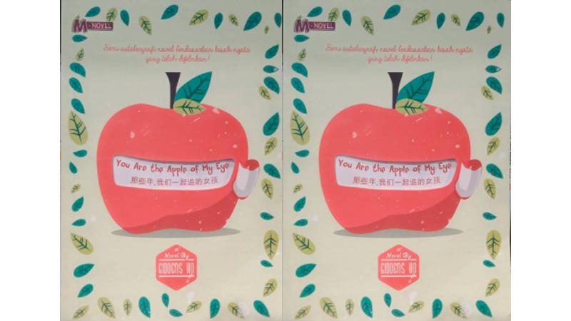 Novel You Are The Apple of My Eye (Sumber foto: SC IG @vinitestore)